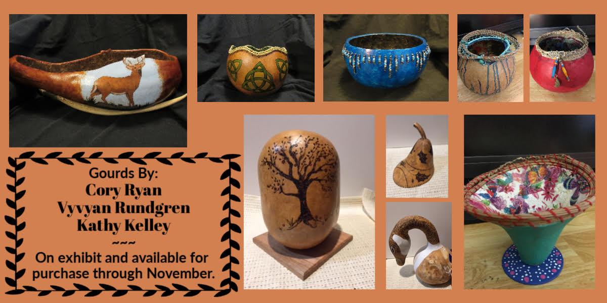 Decorative Gourd Exhibit